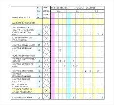 Exam Revision Timetable Template Course Timetable Template Revision Online Sample Training
