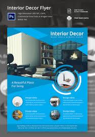 psd flyer templates psd eps ai indesign format editable interior decor flyer template