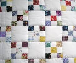 Scrappy Irish Chain Quilt and instructions. Another perfect way to ... & Scrappy Irish Chain Quilt and instructions. Another perfect way to use  scraps. Adamdwight.com