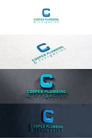 Irrigation Design Australia Playful Modern Plumbing Logo Design For Coopers Plumbing