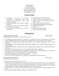 engineering technician resume sample click here to download this  instrumentation technician resume template mechanical engineering technician