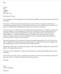 A Sample Of A Proposal Sample Proposal Letter For Hotel Partnership Proposal Letter