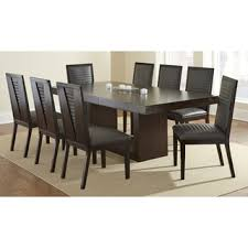 asian contemporary dining collection offer greyson living amia espresso dining set with alexa chairs