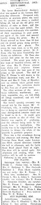 Papers Past | Newspapers | Horowhenua Chronicle | 30 November 1916 | A Fine  Display