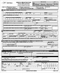 Dmv Ca Bill Of Sale Sample Dmv Application Form 9 Examples In Word Pdf