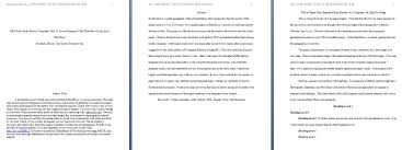 Create The Perfect Essay With Apa Format Template 1564