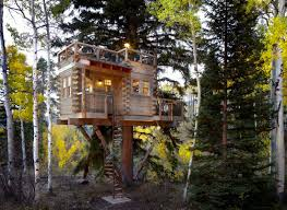 Vail, Colorado treehouse designed Missy Brown Design
