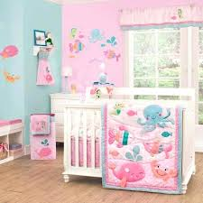 girls crib bedding sets ocean crib bedding for girls under the sea 4 piece baby crib bedding set by carters image quilt sets macys