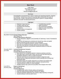Fire Watcher Resume Good Resume Format