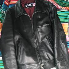 just picked up this schott nyc made in usa leather jacket for 10 at goodwill