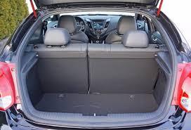 hyundai veloster interior trunk. 2015 hyundai veloster turbo road test review interior trunk
