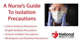 A Nurses Guide To Isolation Precautions