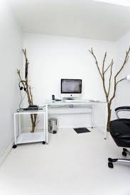 16 Most Stylish Minimalist Home Offices You\u0027ll Ever See : Awesome Whitte  Office Dweef.com