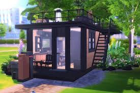 Sims Interior Design Game In The Sims 4 Tiny Houses Thrive Curbed