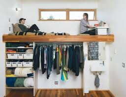 16 loft beds to make your small space feel bigger brit co bed office