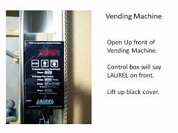 How To Change The Price On A Vending Machine Extraordinary Vending Machine Wiring YouTube