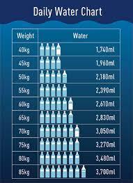 一 日 の 水分 量