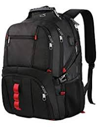 Extra Large Backpack,TSA Friendly Durable Travel Computer Backpack with USB  Charging Port Headphones