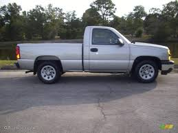 2007 Silver Birch Metallic Chevrolet Silverado 1500 Classic Work ...