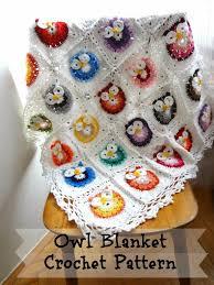 Crochet Owl Blanket Pattern Free New Best Free Crochet Animal Baby Blanket Patterns Crochet Owl Blanket