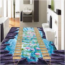 non slip vinyl bathroom flooring charming light high quality 3d floor tiles custom vinyl flooring