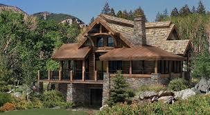Small Log Cabin Plans    Refreshing Rustic RetreatsSmall Log Home Designs