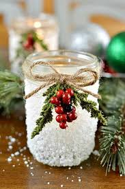 Ideas For Decorating Mason Jars For Christmas Snowy Mason Jar Holiday Inspiration Hoosier Homemade 11