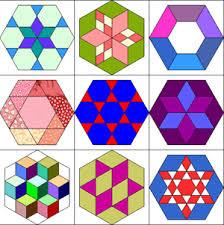 hexagon quilt templates | pillows | Pinterest | Hexagon quilting ... & hexagon quilt templates Adamdwight.com