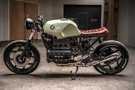big brick kicks ironwood custom s 86 bmw k100 cafe racer