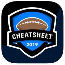 Fantasy Football Draft Cheatsheets App Custom Rankings