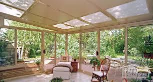 sandstone aluminum frame sunroom with gl roof panels