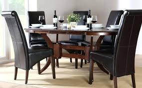 black wood dining set furniture of dining set dining room furniture inspiring dining table black wood