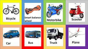 Học tiếng anh chủ đề các loại xe cộ, phương tiện giao thông/ Transport/  English Online - YouTube