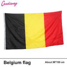 B elgiumธงแบนเนอร์90*150เซนติเมตรแขวนธงชาติเบลเยี่ยมบ้านตกแต่งB Elgiumธง|national  flag|belgium flagflag belgium - AliExpress