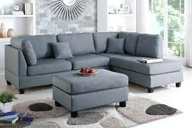 furniture leather suede sectional sofa navy blue gray microfiber couch and reviews secti
