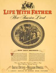 Image result for Life with Father 1947 posters