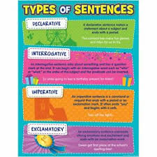 Details About Type Of Sentences Chart Teacher Created Resources Tcr7574
