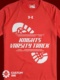High School Cross Country Shirt Design Ideas Varsity Track Custom Shirt Design Idea For K12 High School