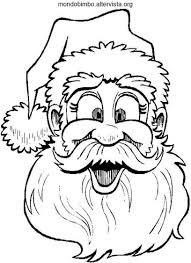 Babbo Natale Disegni Da Colorare Mondo Bimbo Con Disegni Da Colorare