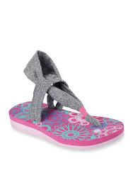 skechers yoga mat sandals. skechers meditation studio kicks sandal - girls toddler/youth sizes | belk yoga mat sandals