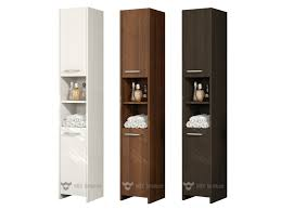 tall bathroom storage cabinets. High Gloss Bathroom Furniture Tall Storage Cabinets L