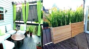 outdoor privacy screen ideas deck porch screening for patio inspiring small best screens on screened houses scr