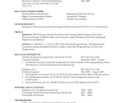Circuit Design Engineer Sample Resume 20 Mechanical Engineering