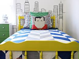 Superhero Bedroom Decorations Modern Superhero Boys Room