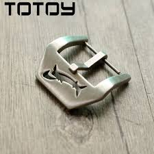 TOTOY 316 Stainless Steel Clasp, <b>20MM 22MM</b> Shark Male Buckle ...