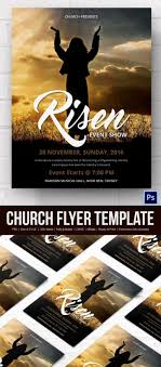016 Free Church Flyer Templates Template Ideas Printable