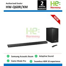 Samsung Q60R Soundbar with Acoustic Beam Technology HW-Q60R/XM