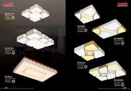 ĐÈN LED TRANG TRÍ ỐP TRẦN ML011/4+1, ML011/6+1, ML031/L, ML6822V, ML68 –  ANFACO LIGHTING. ĐÈN ANFACO. ĐÈN LED ANFACO