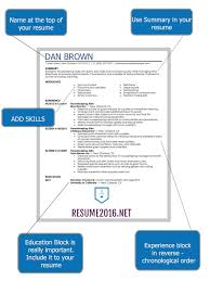 What Should Be On A Resume Magnificent How 28 Resume Should Look Like