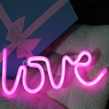 led signs for bedroom. Plain Led Neon Signs Love Letters Pink LED Decorative Night Light For Bedroom Wall  Dcor Wedding In Led For G